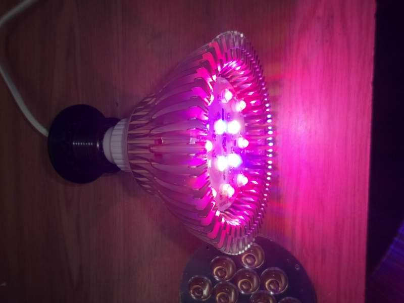 Подсветка для цветов светодиодная своими руками6